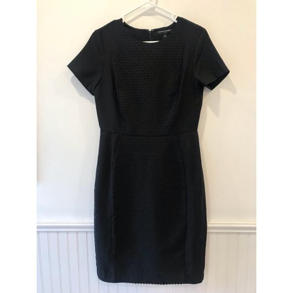 Banana Republic Dresses & Skirts - Banana Republic   Black Swiss Dot Midi Dress